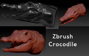 CrocRender by KidneyShake