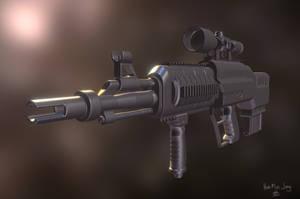 GUN GUN GUN by KidneyShake