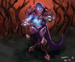 Arc Warden by KidneyShake
