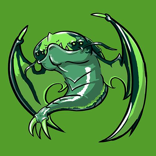 Dota Fanart v2 - Viper by KidneyShake