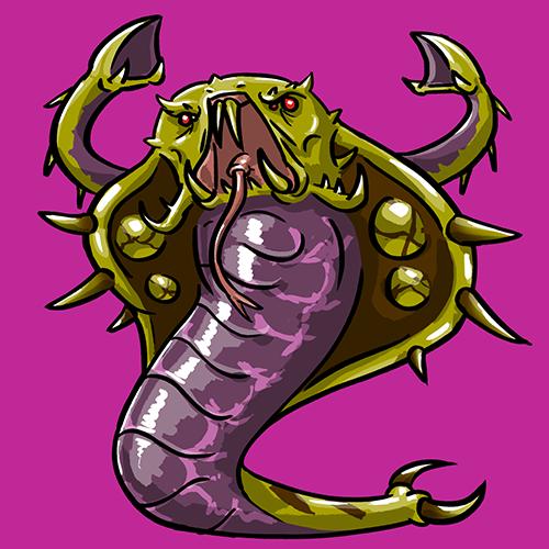 Dota Fanart v2 - Venomancer by KidneyShake