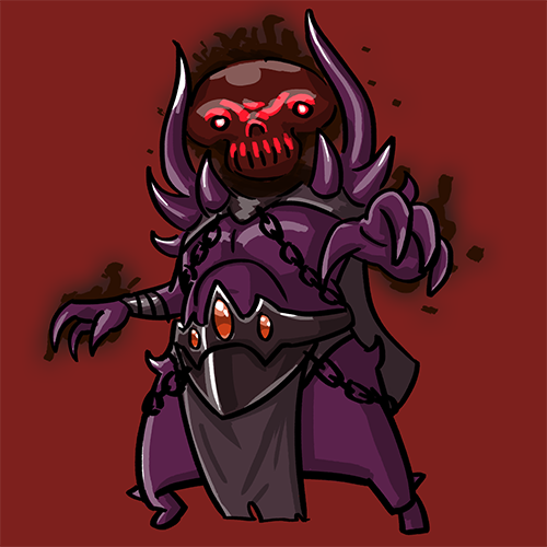 Dota Fanart v2 - Shadow Demon by KidneyShake