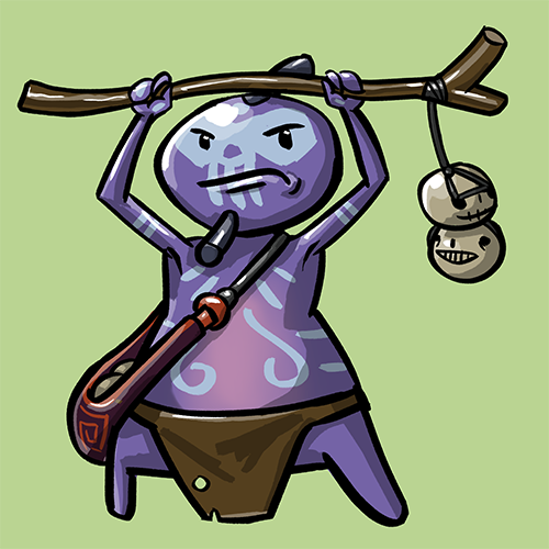 Dota Fanart v2 - Witch Doctor by KidneyShake