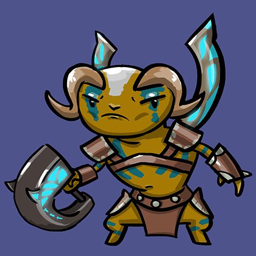 Dota Fanart v2 - Elder Titan by KidneyShake