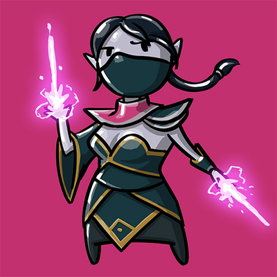 Dota Fanart v2 - Templar Assasin by KidneyShake
