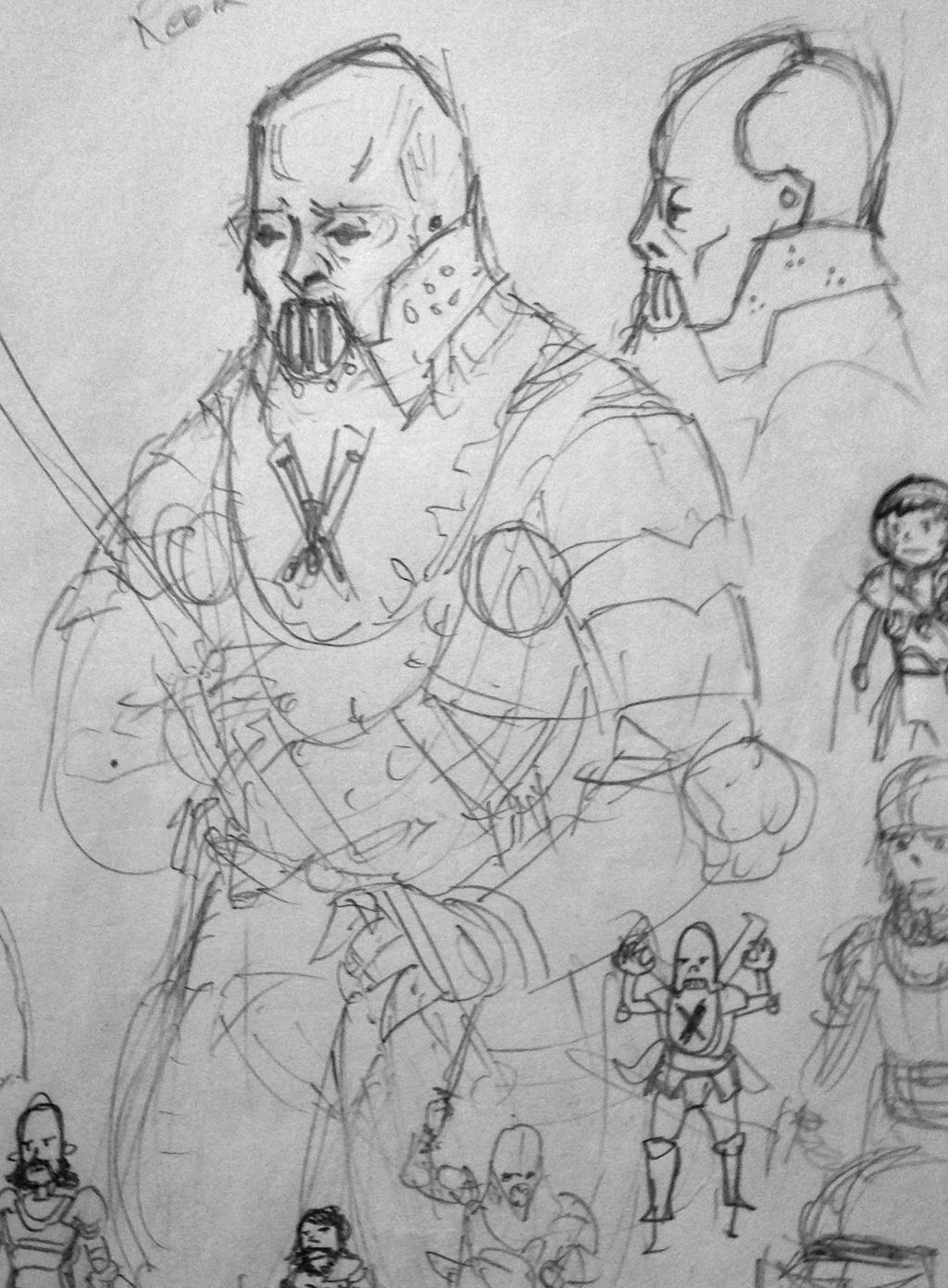 Reek Sketch by KidneyShake