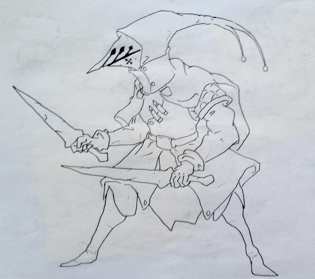 Random Knight by KidneyShake
