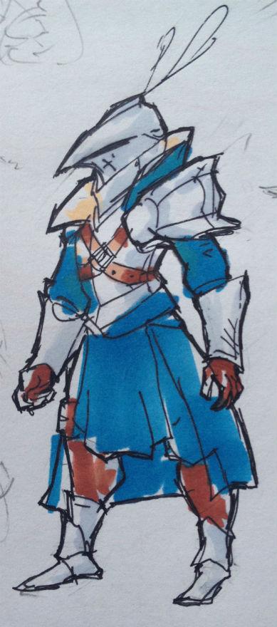 Monster Slayer sketch by KidneyShake