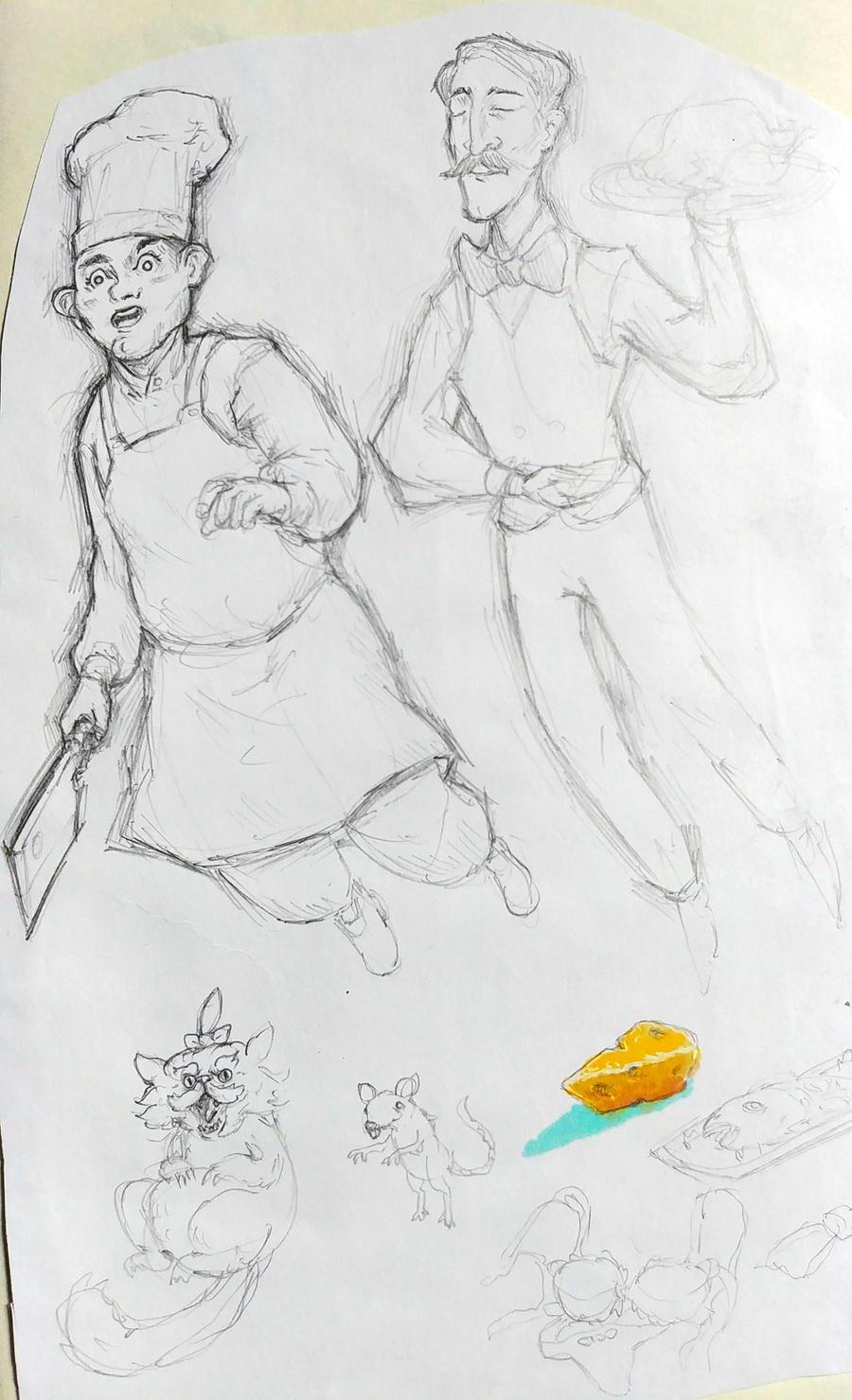 Phantom Chef, Phantom Butler by KidneyShake