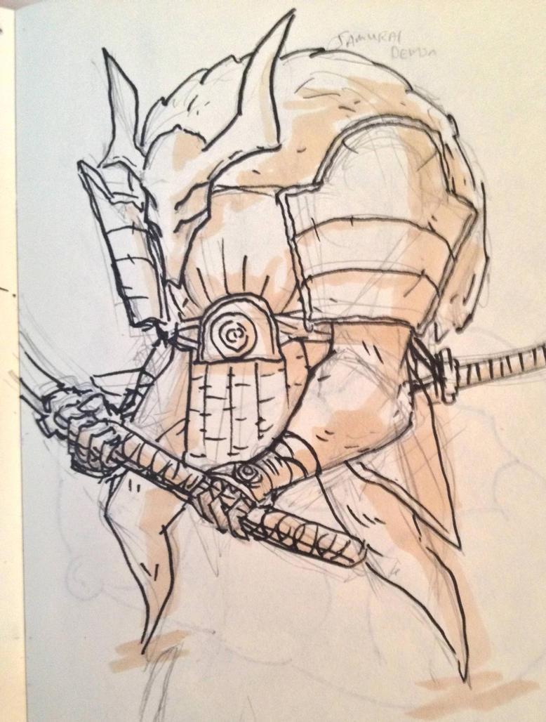 Swordsman Demon by KidneyShake