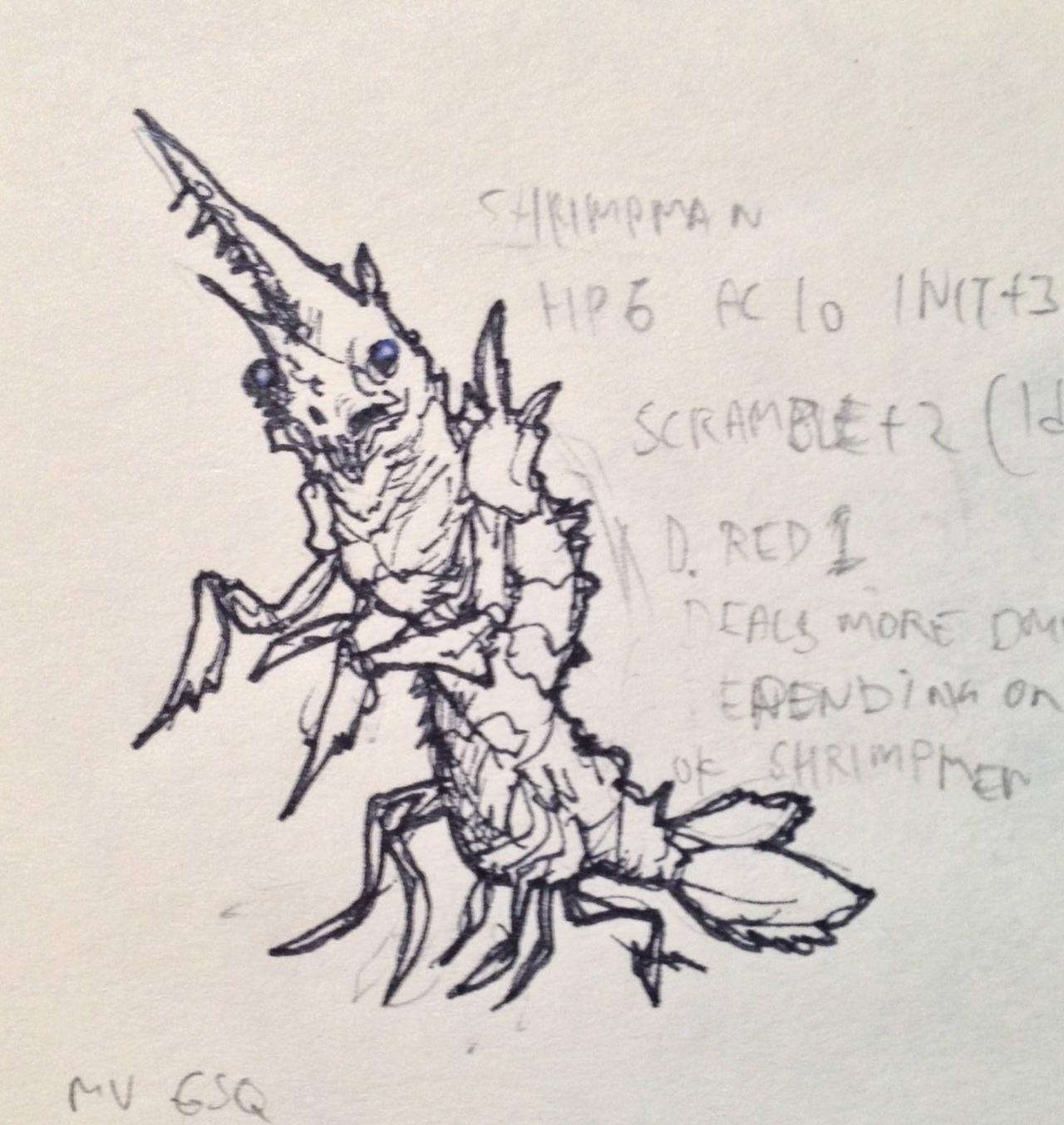Shrimpman by KidneyShake
