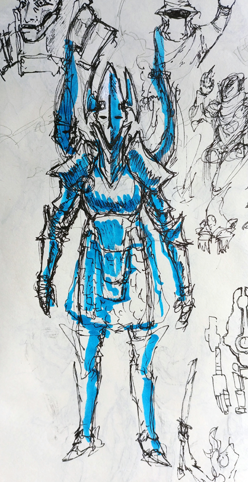 Hunter Armor by KidneyShake