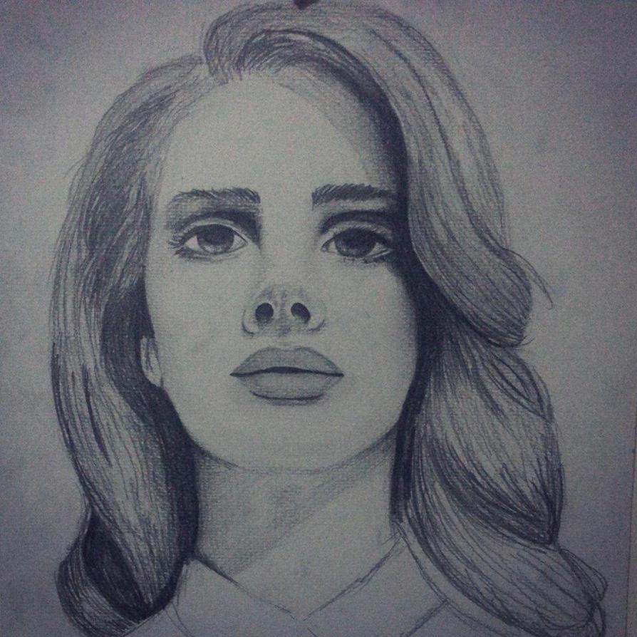 Lana Del Rey by miresalaj