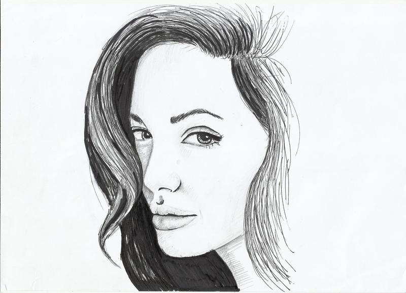 Angelina Jolie by miresalaj