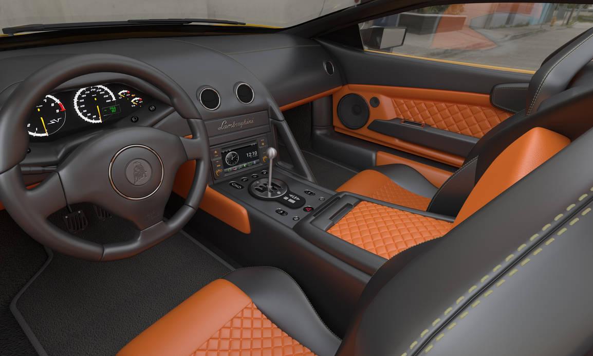 Lamborghini Murcielago Interior By Viosat On Deviantart