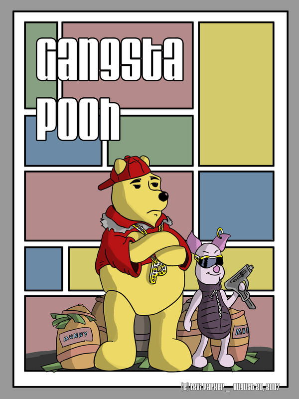 the gallery for gt gangster pooh bear