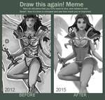 Draw It Again - Blue Angel