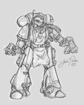 Space Marine Sketch