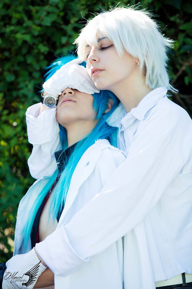 Clear and Aoba Bad end by Woshii