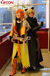 Shui and Leaks - Lamento Beyond the Void cosplay by Woshii