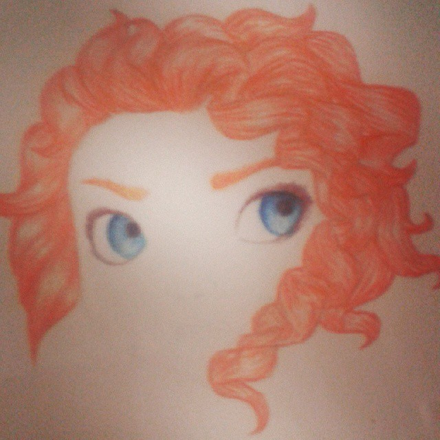 Merida W.I.P by Kekecromano