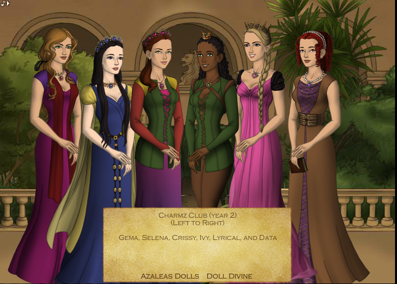 Charmz Club year 2 (Game of Thrones game) by 516tigergirl