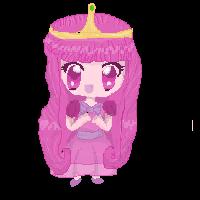 princess bubblegum pixel by ginnypotter8D