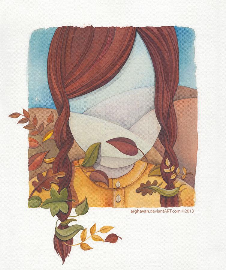 Gloomy Autumn In Me by arghavan