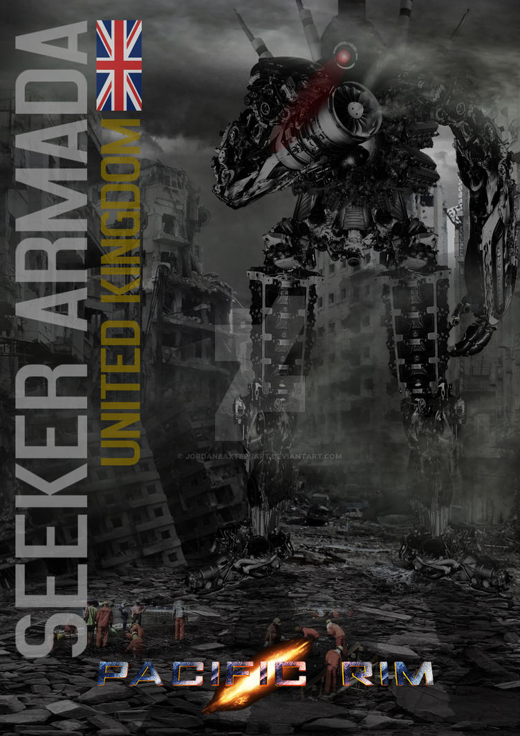 Fan Made United Kingdom Jaeger - PACIFIC RIM - by ... Pacific Rim Jaeger Countries