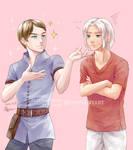 [CM] Alyx and Shiro by PlatinaCreari