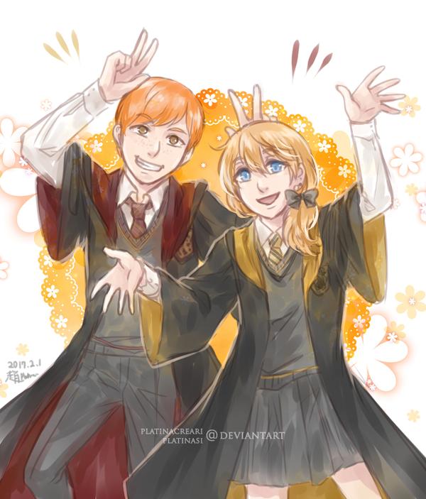 [CM] George and Aurora by PlatinaCreari