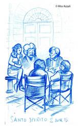 sketch santo spirito 1 by Kelay