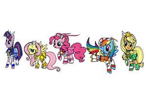 2012 My Little Pony FIM Smile Precure