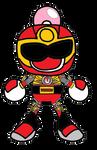 Shirobon NS Red Wind Ranger Battlizer Armor