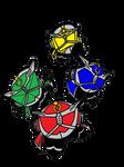 Kirby Kamen Rider  Wizard Four Dragon Style
