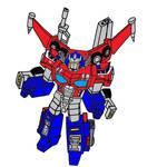 Siege Cybertron Optimus Prime Super Mode