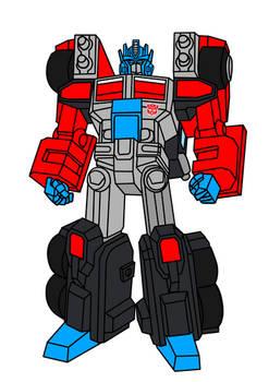 G2 Laser Optimus Prime RID 2001 styles Illustratio