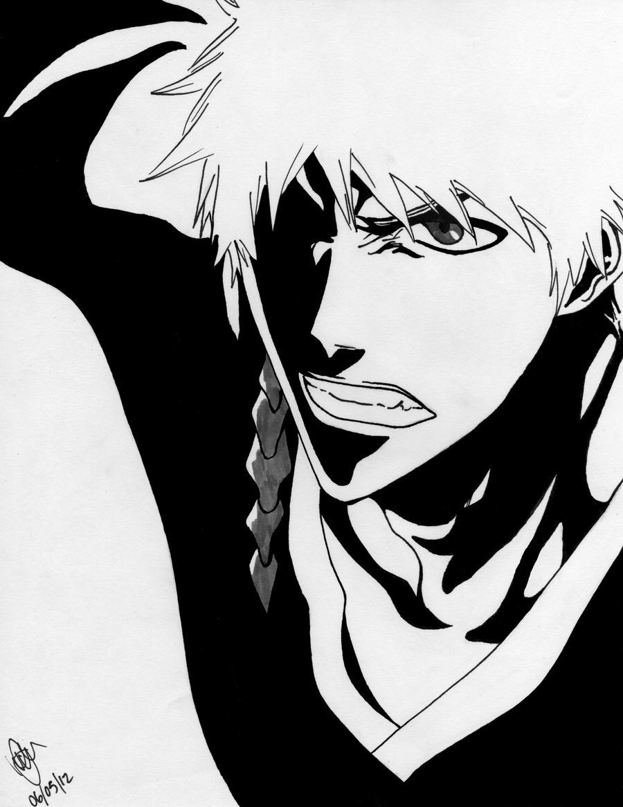 Ichigo Kurosaki 12 by KaichouAngel