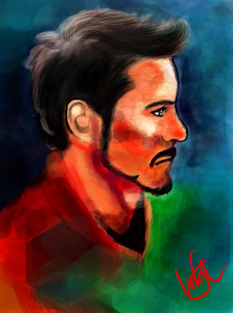 Robert Downey Jr. by KaichouAngel