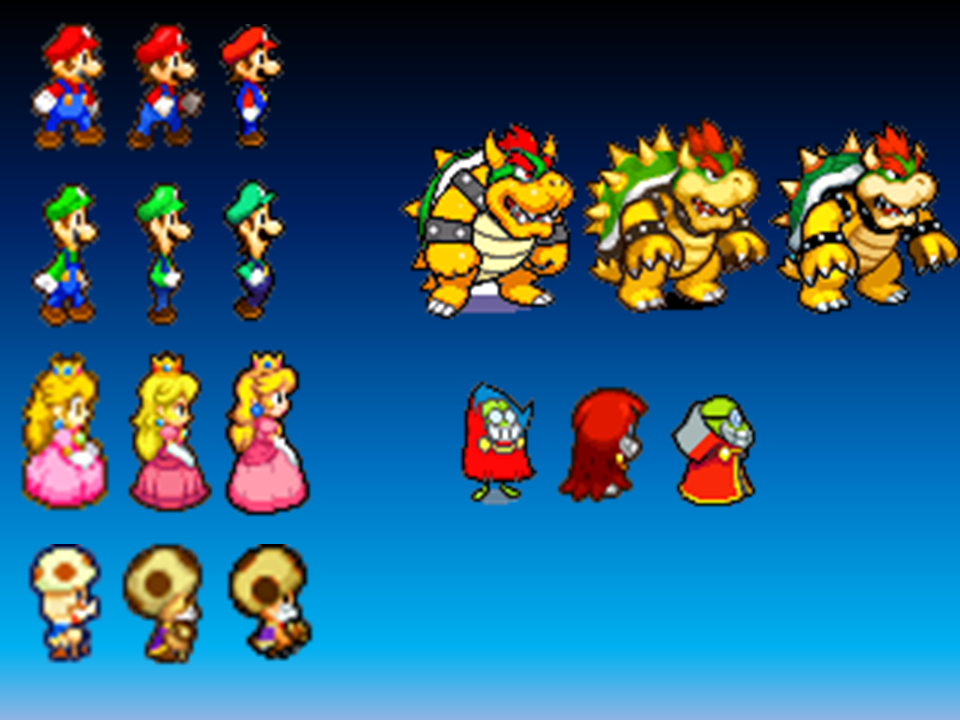 Mario And Luigi Series Character Evolution By Starforce97 On