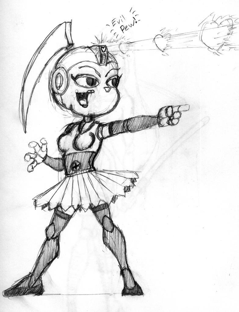 Random Robot Bunny Girl By Mrgone143 On DeviantArt