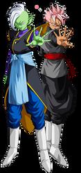 Zamasu and Future Gohan Black by lssj2