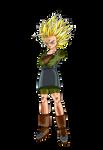 Future Bra (Super Saiyan 2)