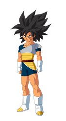 Young Broly Rage form by lssj2