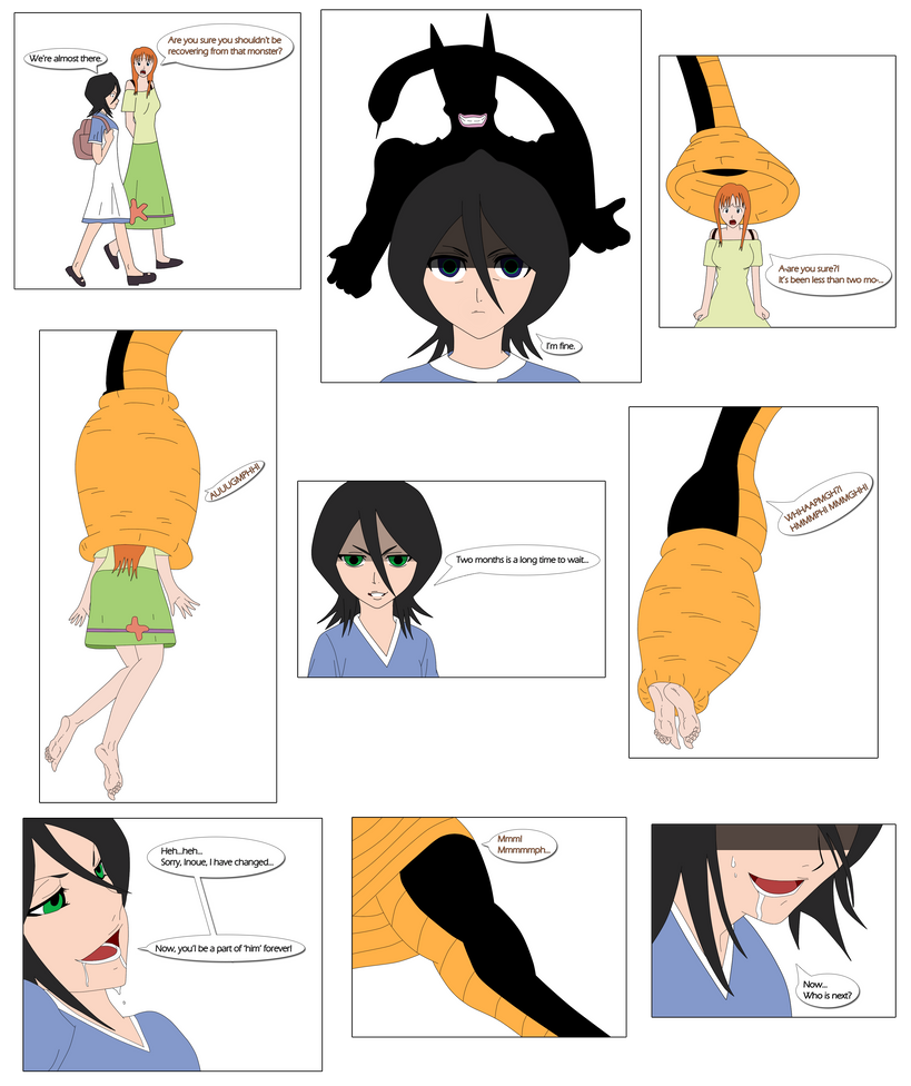 Cell absorbs orihime