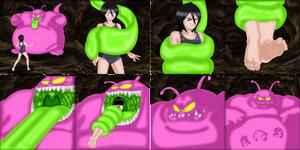 Rukia encounters the Horrifying Buyon!