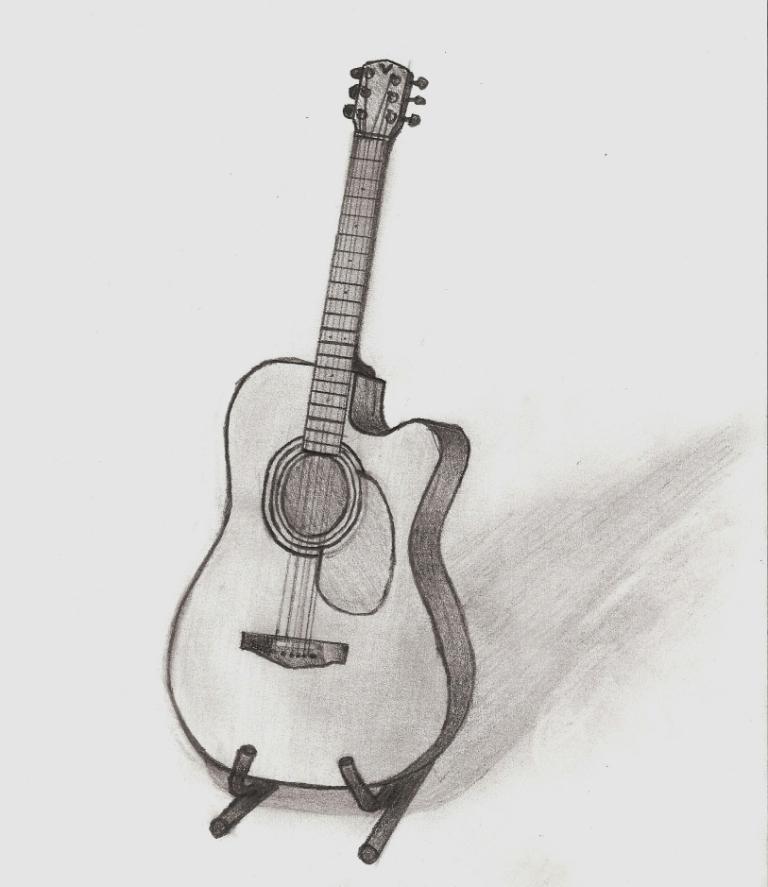 Acoustic Guitar by GuitarPro818 on DeviantArt