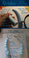 Vriska horns tutorial by Anniina85