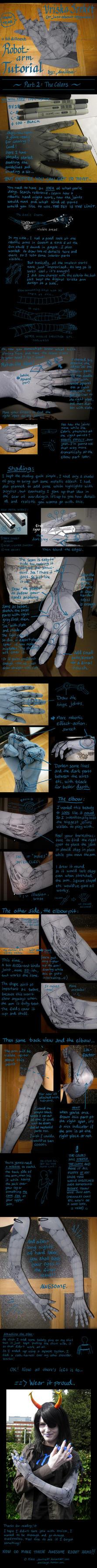 Vriska robot arm TUTORIAL 2of2 by Anniina85