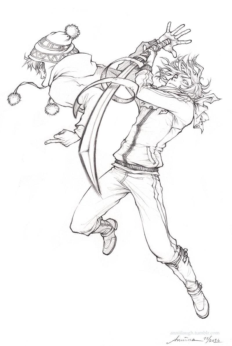 Let's go, Yukine!